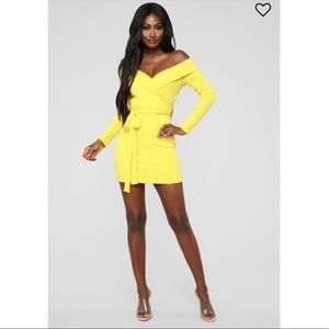 Fashion Nova You Bring Me Sunshine Mini Dress